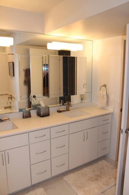 Bathroom Remodel - Lakewood - Contemporary - Bathroom - cleveland - by Bennett Builders
