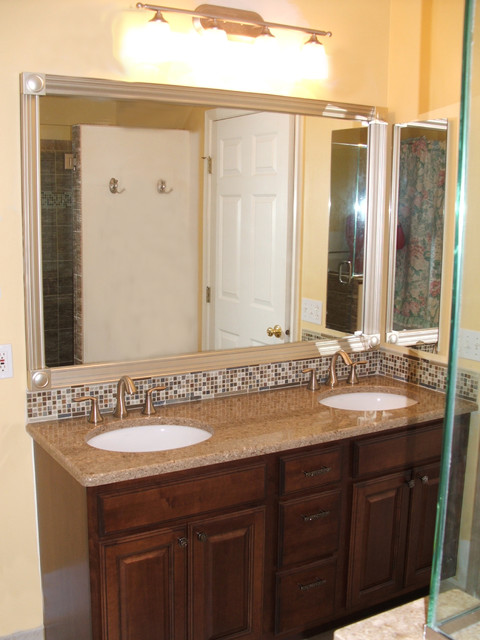 Bathroom Remodel Medina Oh 2 Medallion Silverline Cabinets Traditional Bathroom
