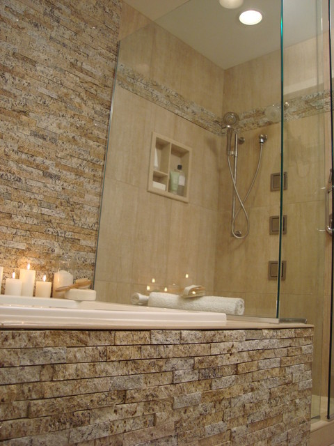 Bathroom remodel contemporary bathroom indianapolis for Bathroom remodel indianapolis