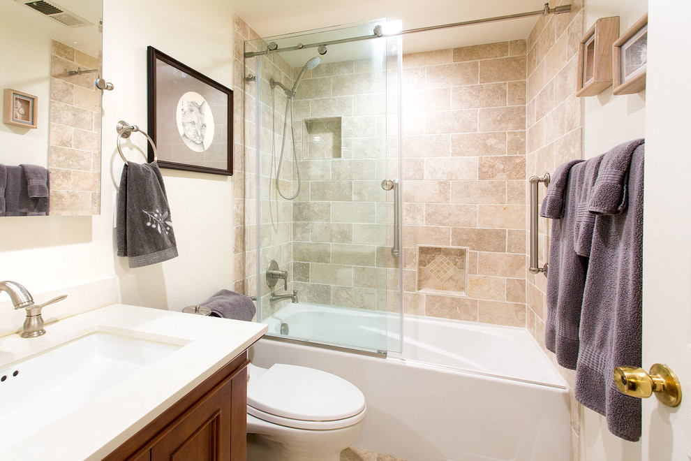 Bathroom Remodel San Jose - Mediterranean - Bathroom - San ...