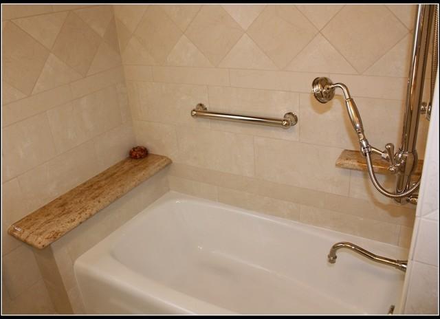 Bathroom Remodel, Small Space traditional-bathroom