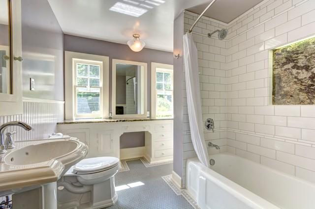 Bathroom remodel southwest hills portland traditional for Bathroom remodel portland