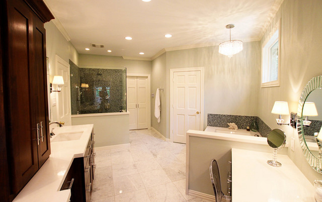 Bathroom Remodel Modern Bathroom Dallas By Studio B Designs