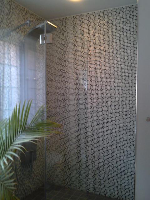 Bathroom remodel - contemporary-bathroom