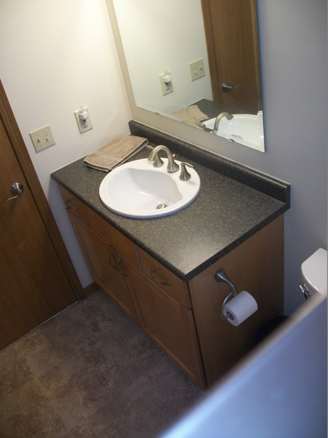 Bathroom Remodel Wadsworth Oh 2 Contemporary Bathroom Cleveland By Cabinet S Top