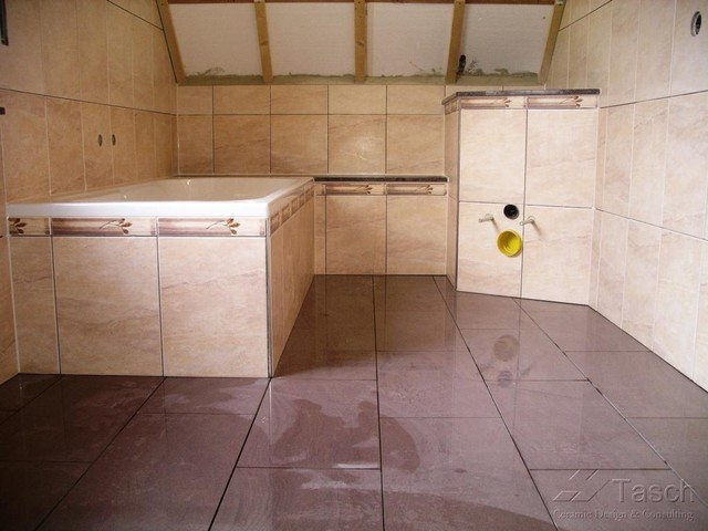 Tiling over existing floor tiles