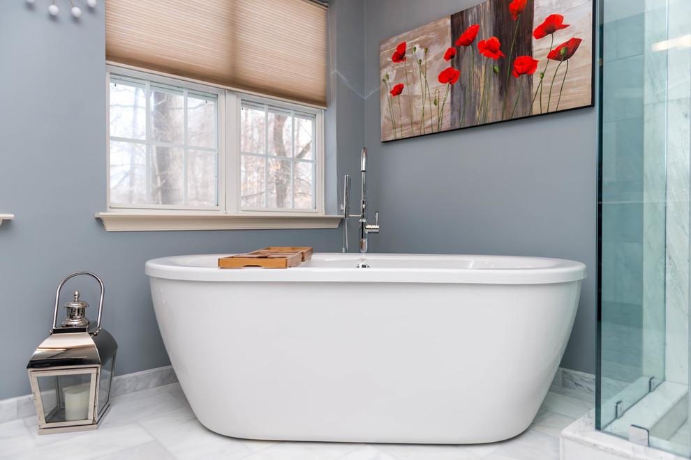 Bathroom Remodeling No. 2, Laurel MD - Contemporary ...