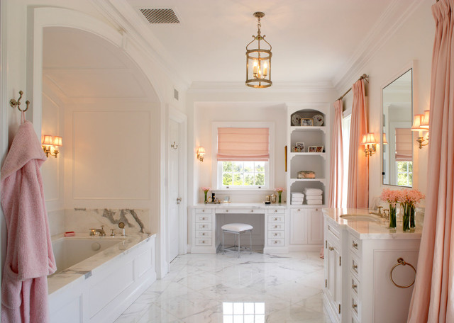 Bathroom remodeling traditional bathroom dc metro for Houzz bathrooms