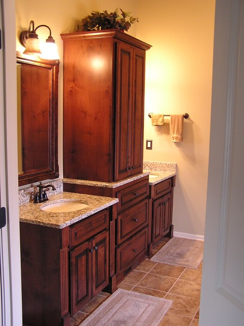 Bathroom Remodeling With Cabinet Refacing Traditional