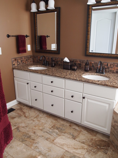 Bathroom Remodels/before and after traditional-bathroom