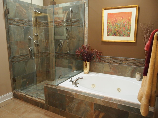 Bathroom remodels before and after for Images of bathroom remodel ideas