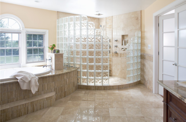 Stylish Options For Shower Enclosures - Alternative to tiles in shower cubicle