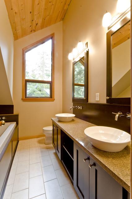 Bathroom Reno contemporary-bathroom