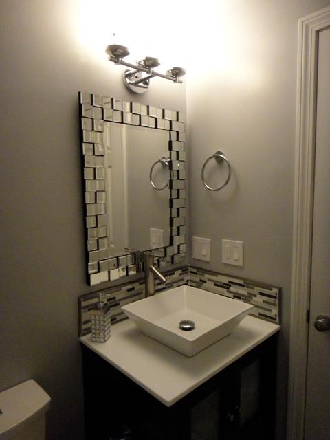 Bathroom reno modern bathroom boston for How to reno a bathroom