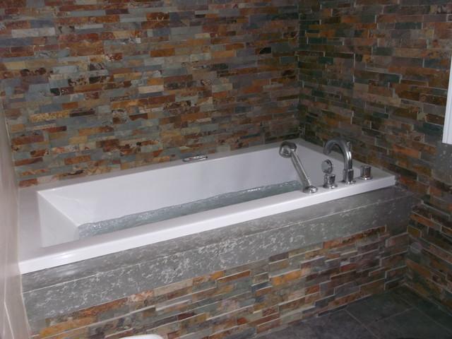 Bathroom - Cuarto bano rustico ...