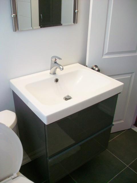 Bathroom Reno With Floating Vanity