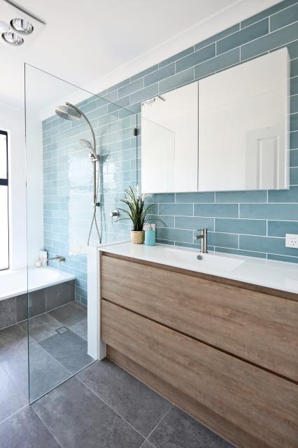 Bathroom Renovation - Ballajura, Western Australia - Beach ...
