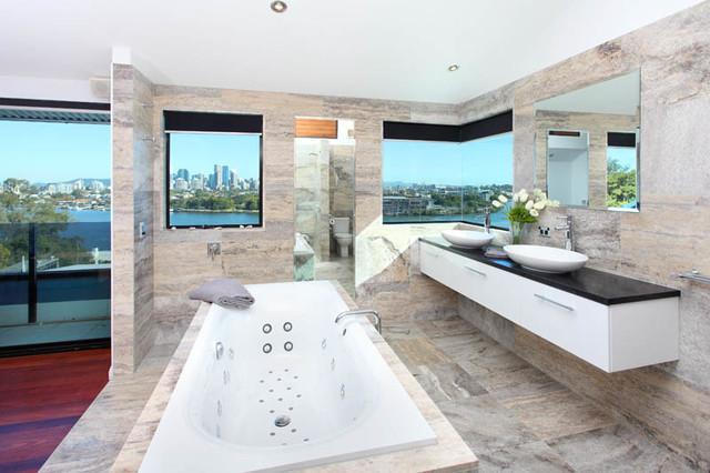 Bathroom Renovation Brisbane Contemporary Bathroom Brisbane By Divine Renovation Pty Ltd