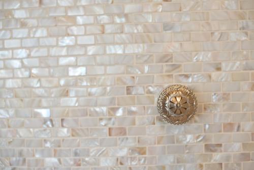 - Mother Of Pearl Tile Backsplash