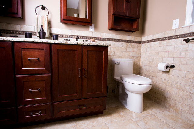Bathroom Renovation In New Jersey Traditional Bathroom New York By Design Build Pros