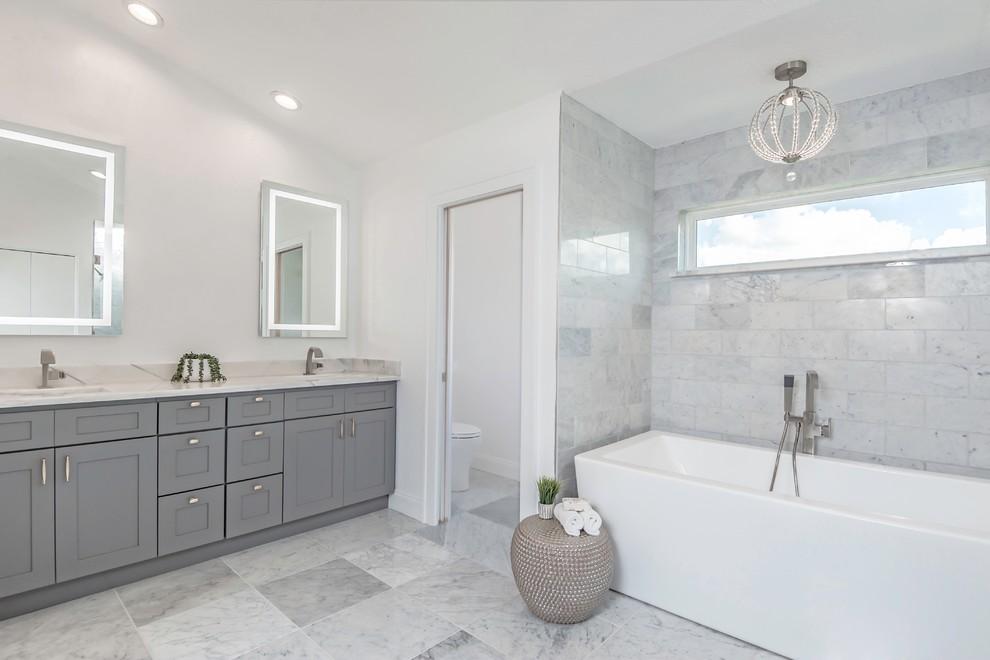 Bathroom Renovation in Seminole - Contemporary - Bathroom ...