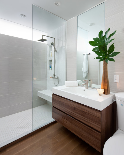 Before and After  6 Bathrooms That Said Goodbye to the Tub Best 30 Bathroom Ideas Houzz