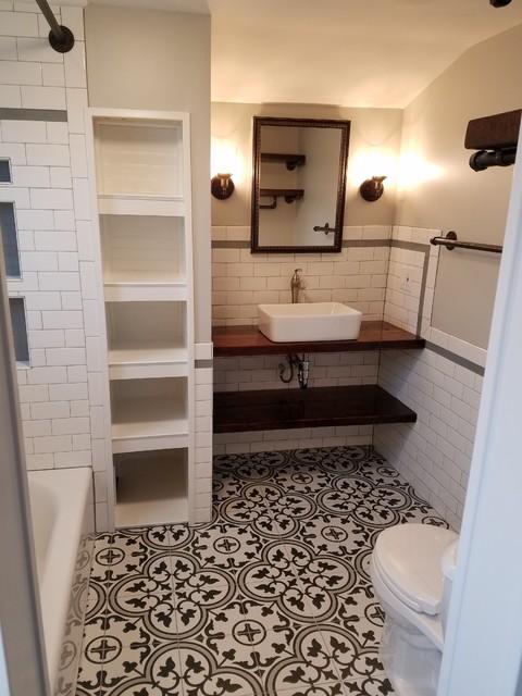 Bathroom Renovation Farmhouse Bathroom St Louis By