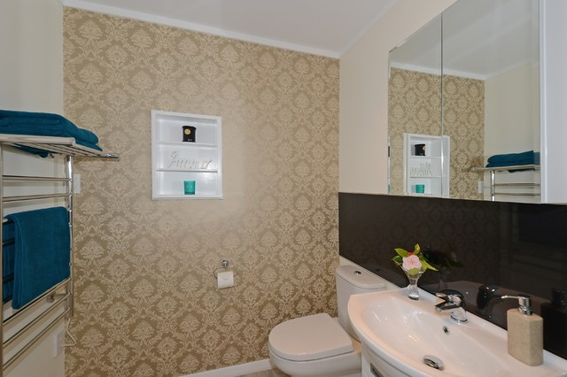 Brisbane bathroom renovations with ensuite bathroom design also gas