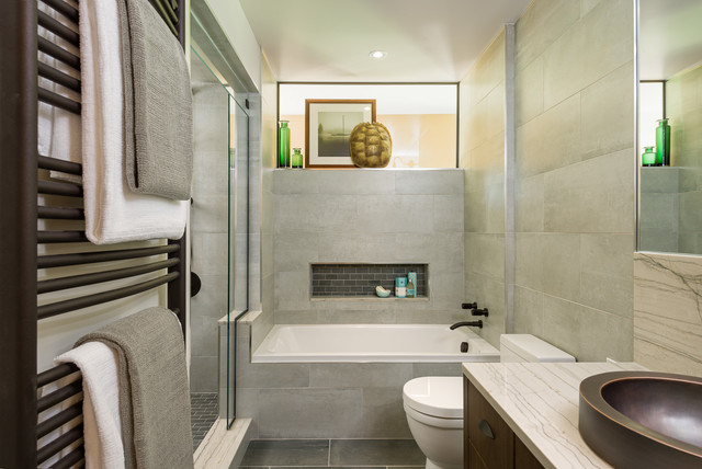 Bathroom renovations by astro design ottawa modern for Kitchen bathroom renovations