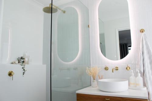 gold tapware bathroom trends 2021