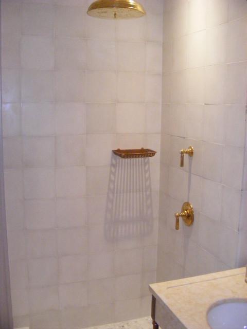 Bathroom Renovations to a Center City Home modern-bathroom