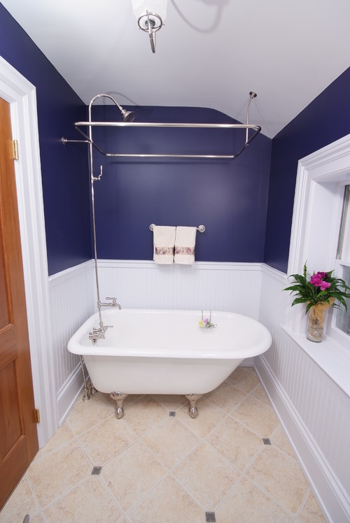 The Modern Freestanding Bathtub The Tub Connection Blog - Small bathroom remodel with clawfoot tub