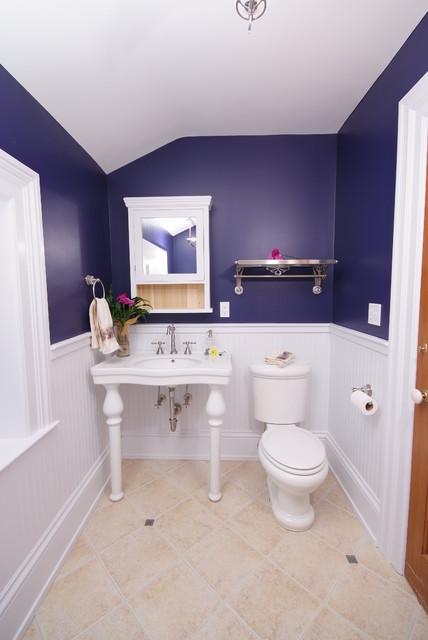 Bathroom restored traditional-bathroom