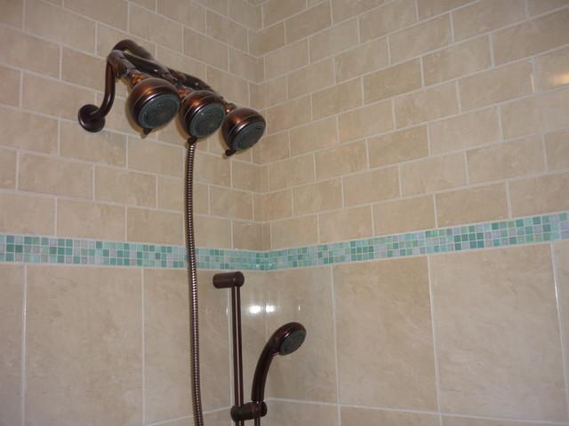 Bathroom Shower Tropical Bathroom Other