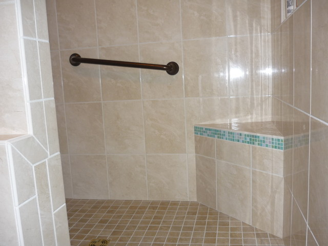 Bathroom Shower Tropical Bathroom Other