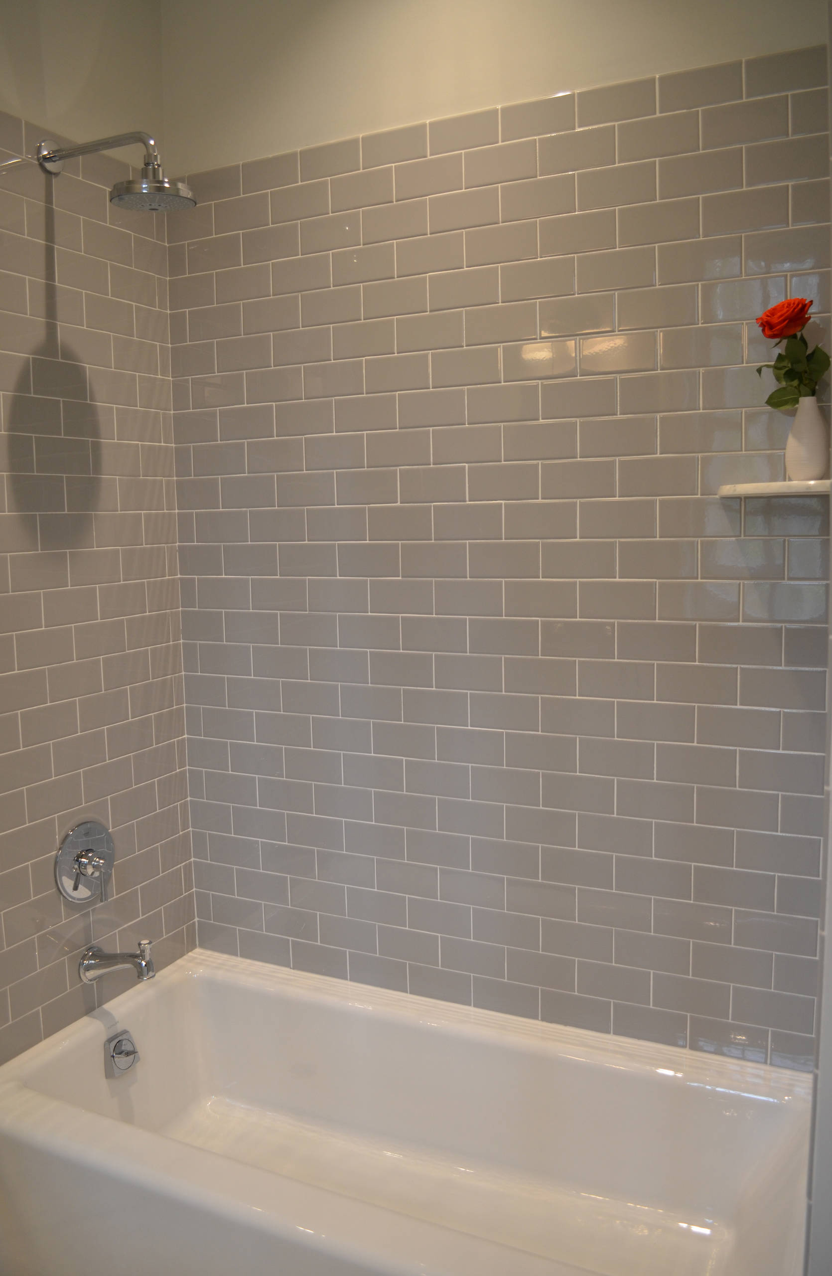 Subway Tile Tub Surround Houzz