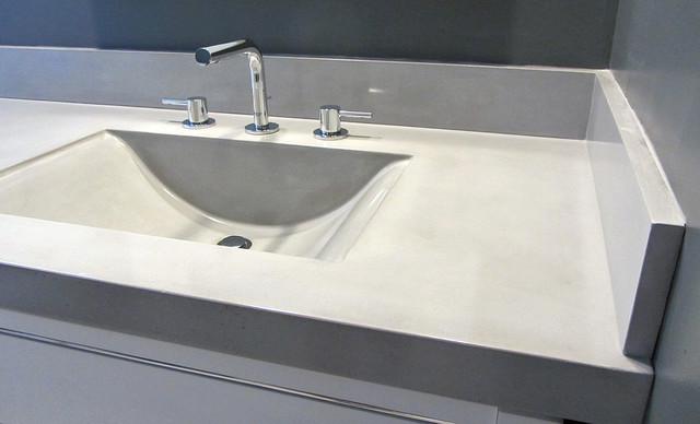 Bath And Sink : bathroom sink, countertop, and backsplashes - Modern - Bathroom ...
