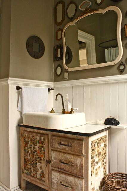 Bathroom Sink Eclectic Bathroom San Francisco By