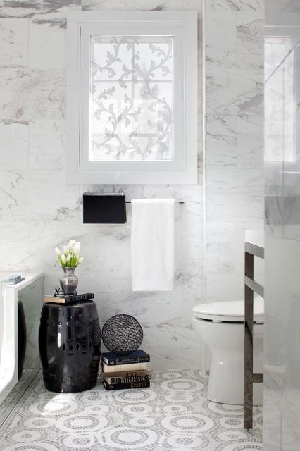 Bathroom Space for a Canadian Crooner contemporary-bathroom
