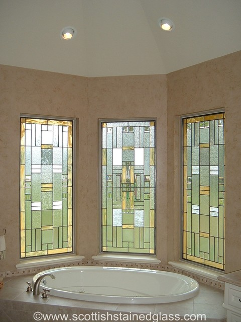 bathroom stained glass traditional bathroom denver by scottish