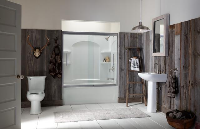 Bathroom Fixtures Milwaukee bathroom - rustic - bathroom - milwaukee -sterling plumbing