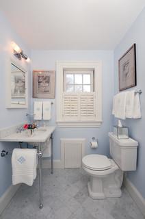Color guide how to use light blue for Houzz bathroom design guide