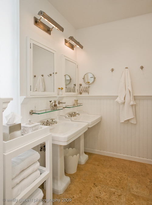 Vintage bathroom floor ideas that aren 39 t white for 6x9 bathroom ideas