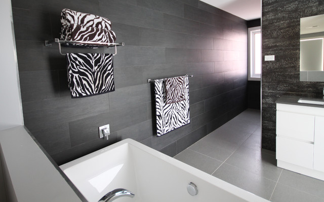 Bathroom tile ideas contemporary bathroom sydney by amber tiles australia - Bathroom decorating ideas australia ...