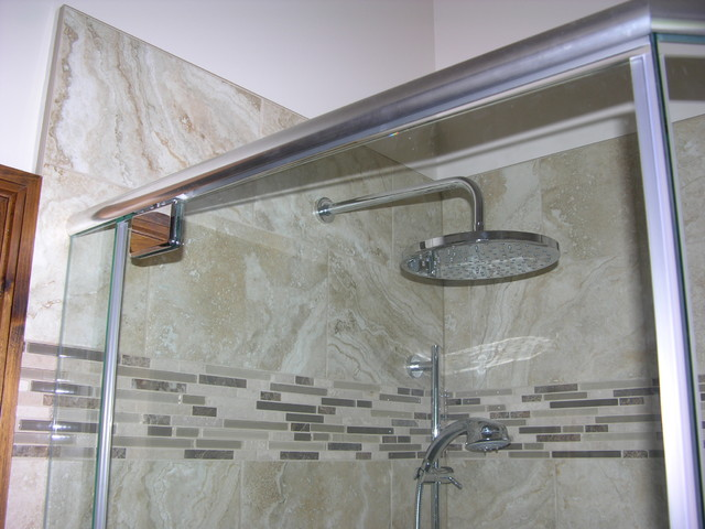 bathroom tiled shower stall bathroom toronto by caledon tile