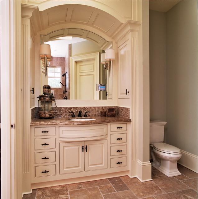 Kitchen Sink Bump Out: Bathroom
