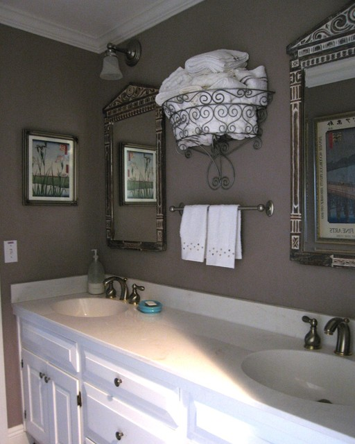 Bathroom Towel Storage bathroom towel storage - eclectic - bathroom - tampa -