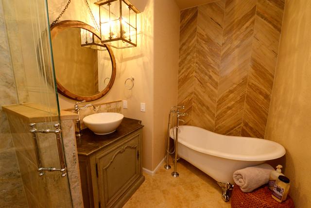 Bathroom Traditional European Cottage Emily Traditional Bathroom Den