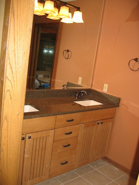 Bathroom update remodel traditional bathroom for What s the average price to remodel a bathroom