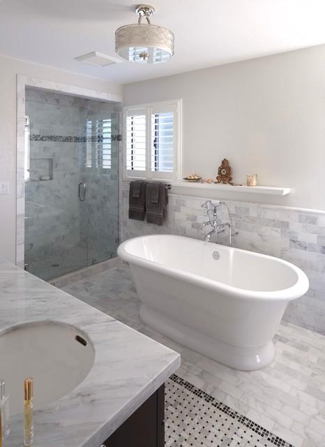 Bathroom Upgrade Traditional Bathroom San Francisco By Santa Cruz Kitchen Bath
